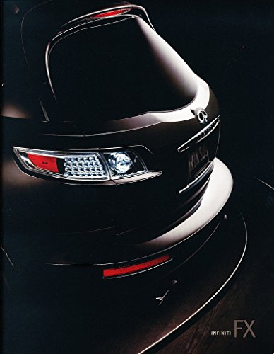 2007-infiniti-fx-fx35-fx45-48-page-original-car-sales-brochure-catalog