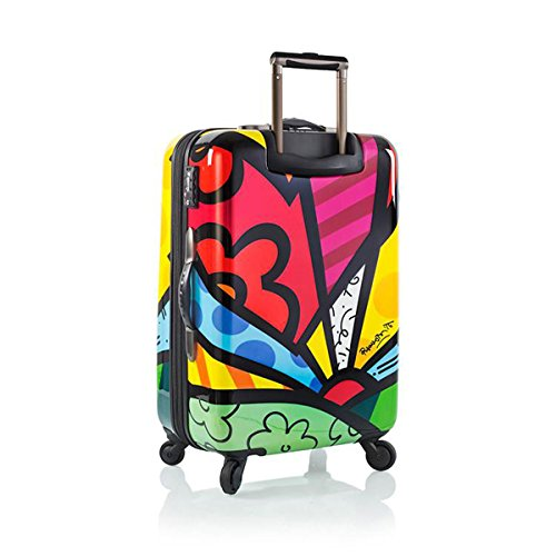 Romero Britto Luggage 22'' a New Day Spinner Wheels Carry-on by Heys (Image #1)