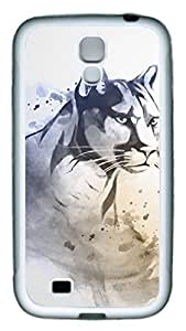 Samsung Galaxy S4 Case TPU Customized Unique Print Design Hand Painted White Case Cover For Samsung Galaxy S4