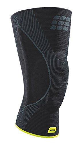 CEP Ortho+ Knee Brace, Black/Green, Unisex, Size 6