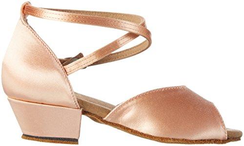 Diamant Mädchen Tanzschuhe 022-030-094, Zapatos de Tacón para Niñas Beige (Navy)