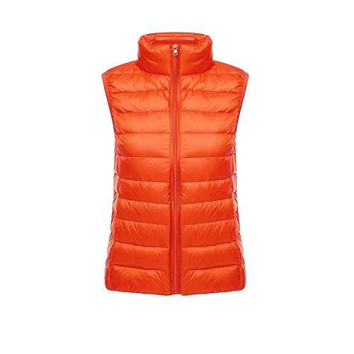 Wwsunny Légère D'hiver Femmes Orange D'extérieur Duvet Veste En pgPFqB