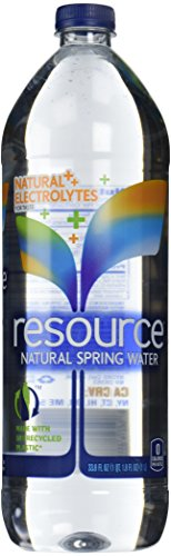 Resource Natural Spring Water  33 8 Oz  12 Pack