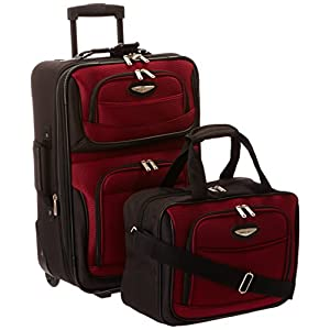 Traveler's Choice Two-Piece Carry-On Luggage Set