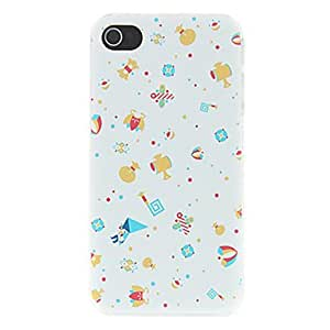 JOE Cute Various Presents Pattern Matte Designed PC Hard Case for iPhone 4/4S