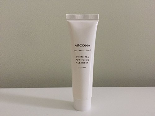 ARCONA White Tea Purifying Cleanser, Deluxe Travel Size, .33 oz