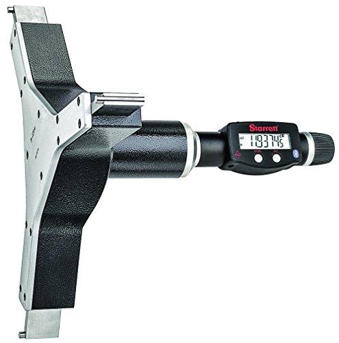 Gage Starrett Bore (Starrett 770BXTZ-12 Electronic Digital Internal Bore Micrometer with Bluetooth, SPC output, 11-12