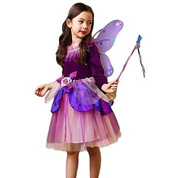 023db60548932 夏日の雨 コスプレ 衣装 コスチューム ハロウィン 仮装 キッズ 女の子 精霊 花の妖精 ウィング