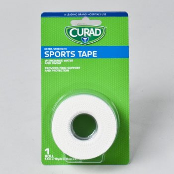 TAPE SPORTS CURAD EX STR 1.5IN X 10YD CARDED, Case Pack of 24 by DollarItemDirect