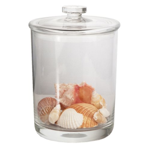 60oz Premium Quality Clear Plastic Apothecary Jar