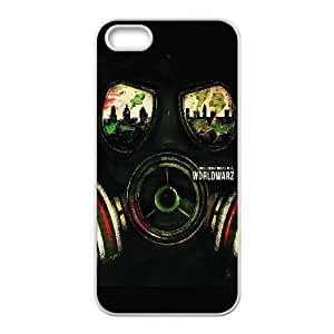 World War Z Poster iPhone 5 5s Cell Phone Case White DIY Present pjz003_6509168