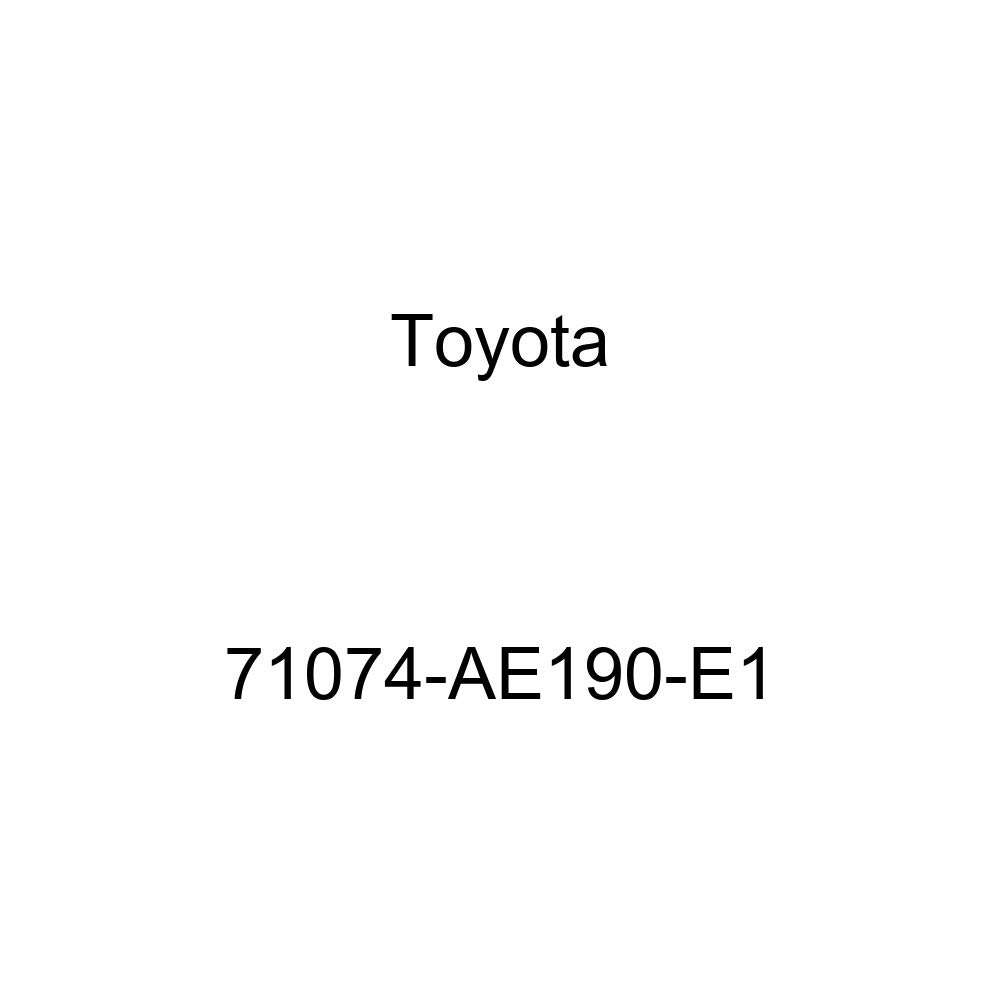 TOYOTA Genuine 71074-AE190-E1 Seat Back Cover