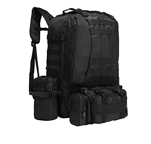 Large Camouflage Multi Capacity Camping Mountaineering Cp Black Tactical Combination functional Backpack Military T1YpAYqdw