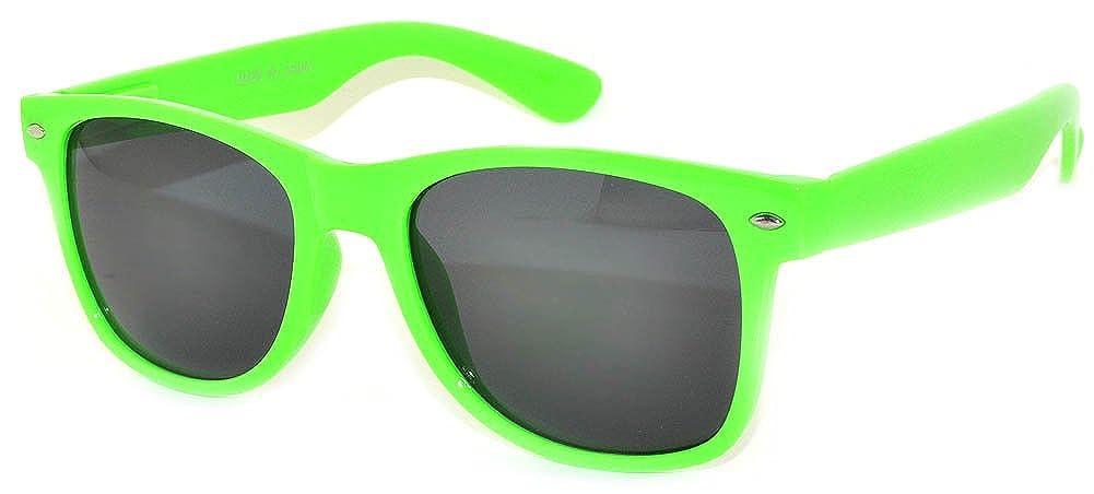 Stylish Smoke Lens Vintage Sunglasses Light Green Frame OWL