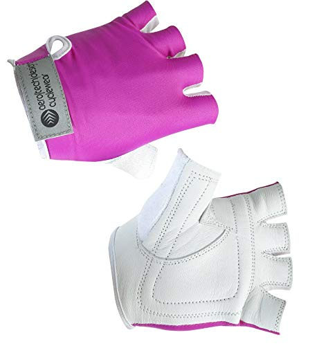 AERO TECH DESIGNS Child Bike Gloves in Pink X-Large (10-12) ()
