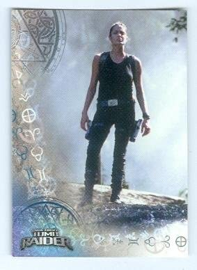 Angelina Jolie Trading Card Lara Croft Tomb Raider 2001 Inkworks 43 At Amazon S Entertainment Collectibles Store