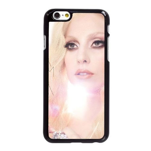 U4J72 Lady Gaga V9V1SZ coque iPhone 6 4.7 pouces Cas de couverture de téléphone portable coque noire WX1THH5MQ