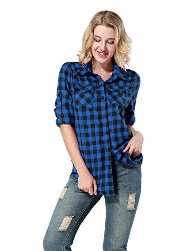 Plaid Button Down Shirt - 2