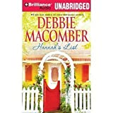 Hannah's List (Blossom Street)- By Debbie Macomber(A)/Fred Stella(N)