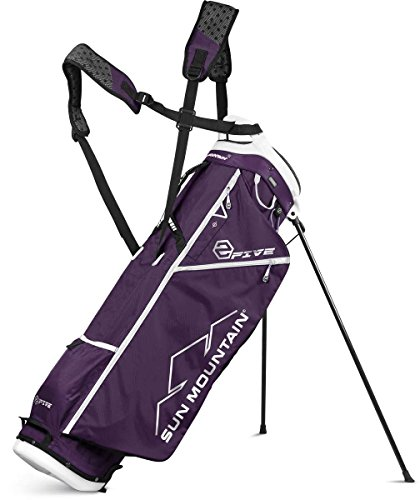 SUN-MOUNTAIN-2-FIVE-WOMENS-STAND-GOLF-BAG-2017-PurpleWhite