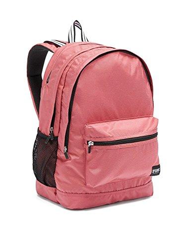 Victoria's Secret Pink Campus Backpack Solid Soft Begonia