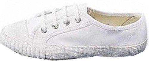 OSG - Elastische Jugendliche Schuhe Weiße Sport Schuhe Junioren Größen - 39