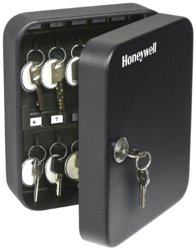 (Honeywell Safes & Door Locks - 6105 Steel 24 Key Security Box, 0.07-Cubic Feet, Black)