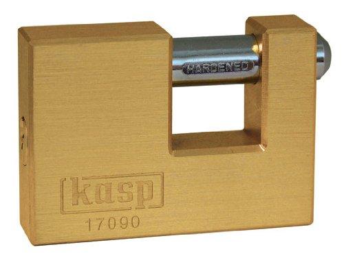 Kasp 170 Brass Shutter Lock - 90 Millimeters