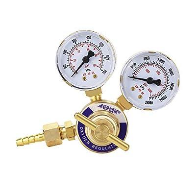 AGPTEK Welding Gas Welder Oxygen Regulator CGA 540