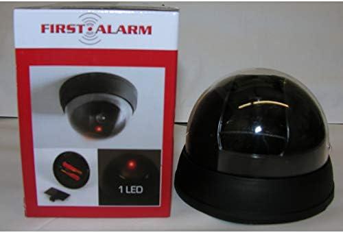 2x Dummy Überwachungskamera Video Kamera wireless Attrappe in-//outdoor LED