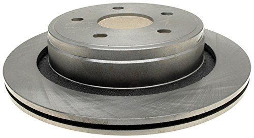 ACDelco 18A1428A Advantage Non-Coated Rear Disc Brake Rotor