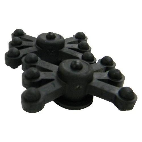 Bowjax MonsterJax Solid Limb Dampener for Crossbow (2 Pack), Black ()