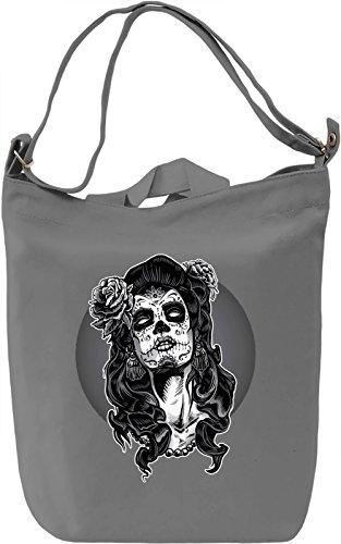 Gothic Girl Borsa Giornaliera Canvas Canvas Day Bag| 100% Premium Cotton Canvas| DTG Printing|
