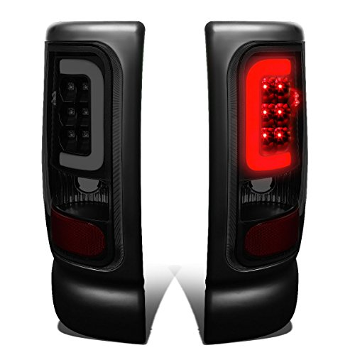 DNA Motoring TL-DRAM94-LED-3D-BK-SM Tail Light Assembly (Driver and Passenger Side)