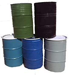One 55 Gallon Used/Reconditioned Steel T...