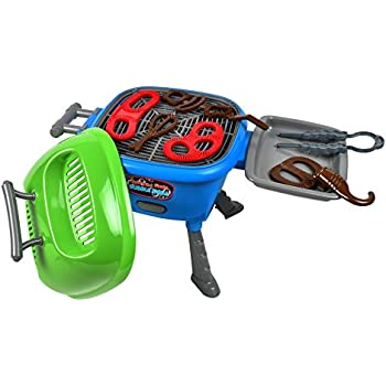 Sunny Days Entertainment Maxx Bubble Light-up and Sizzle Grill with Real Grilling Sounds and Accessories