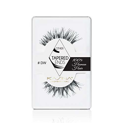73e0fe04b3c KASINA Professional False Eyelashes #DW Demi Wispies Tapered Ends Lashes in  100% Human Hair