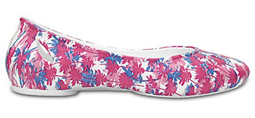 Crocs Kelli Graphic Flat W White 38EU