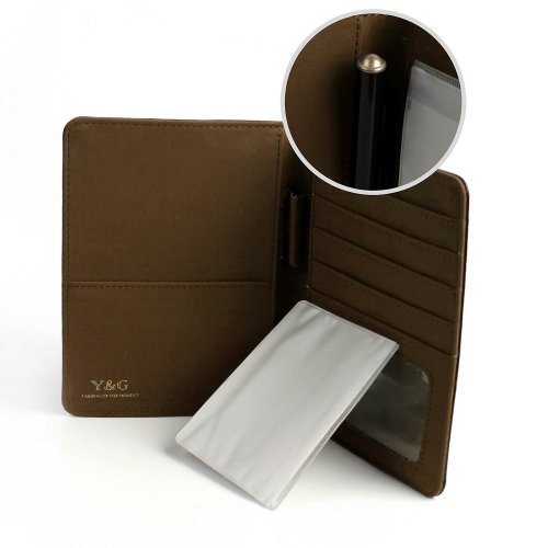 07. YPA02A Excellent Fashion Passport Wallet Best For Mens Card Holder By Y&G