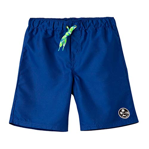 b9937e198f OFFCORSS Big Boy Kids Colorful Swimming Trunks Swimsuit Trajes de Baño Niño  Blue 6