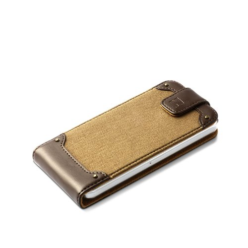 Zenus ZC25SRFDA - Carcasa para Apple iPhone 5/5S, beige