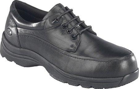 (Florsheim Work Men's Casual Moc Toe Oxford (Black 12.0 3E))