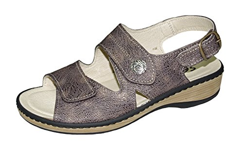 sentio Women Comfort Sandal 424512 Moro Brown Braun RIVAYYMp