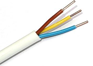 Mantelleitung NYM-J 3 X 1,5mm² , grau, Lä nge wä hlbar (25m) XBK Energy/Emskabel
