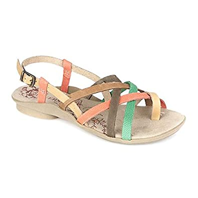 c68a69ad75bc Pavers Leather Slingback Sandal 307 826 - Multi Size 5 (38)  Amazon ...