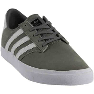 a2c097878bb adidas Skateboarding Men s Seeley Premiere Charcoal Solid Grey Footwear  White Footwear White 4 D