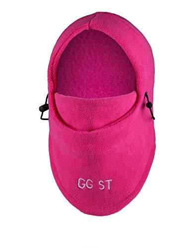 GG ST Kid's Balaclava Hat Winter Windproof Thick Thermal Fleece Outdoor Ski Cycling Cap Warm Adjustable Hood