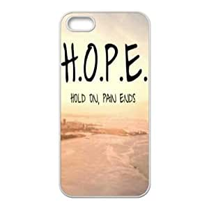 Hold on pain ends iPhone 5,5S,5G phone case, diy phone case for iPhone 5,5S,5G Hold on pain ends, diy Hold on pain ends cover case