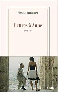 Lettres à Anne : 1962-1995 [2 CDs]