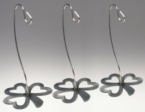 Christmas Ornament Holders - Set of 3 Ornament Hangers wi...